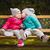 vermek · diğer · öpücük · iki · kızlar - stok fotoğraf © superelaks