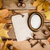 frame, paper and autumn leaves stock photo © superelaks
