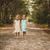 kettő · aranyos · kislányok · áll · nap · szemüveg - stock fotó © superelaks