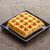 伝統的な · ワッフル · プレート · チョコレート · 桃 · 黄色 - ストックフォト © supersaiyan3