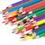 gekleurd · potloden · geïsoleerd · witte · hout - stockfoto © supersaiyan3