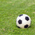 football (soccer) on green field stock photo © supersaiyan3