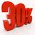 3D · 30 · por · cento · desconto · ilustração · 3d - foto stock © supertrooper