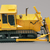 zwaar · bulldozer · grijs · bouw · oranje · kleur - stockfoto © Supertrooper