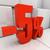 3D · yüzde · indirim · 3d · illustration · kırmızı - stok fotoğraf © Supertrooper