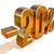 3D · ouro · 20 · vinte · por · cento · desconto - foto stock © supertrooper