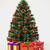árvore · de · natal · decorações · cinza · cor · objeto · férias - foto stock © Supertrooper