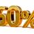 3D · goud · 60 · zestig · procent · korting - stockfoto © Supertrooper