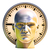 3D · portret · bezorgd · man - stockfoto © supertrooper