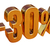 3d gold 30 percent discount sign stock photo © supertrooper