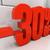 3D · 30 · yüzde · indirim · 3d · illustration - stok fotoğraf © supertrooper