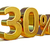 30 · trinta · por · cento · 3D · número · isolado - foto stock © supertrooper