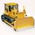 zwaar · bulldozer · licht · bouw · oranje · kleur - stockfoto © Supertrooper