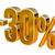 altın · 30 · yüzde · 3D · Metal - stok fotoğraf © supertrooper
