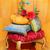 marsepein · bruidstaart · geïsoleerd · witte · voedsel · bruiloft - stockfoto © svetography