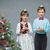 クリスマス · フォーム · クリスマスツリー · 背景 - ストックフォト © svetography