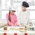 mutlu · aile · Noel · kurabiye · anne · küçük - stok fotoğraf © svetography