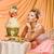 esküvői · torta · virágok · asztal · menyasszonyok · szeretet · torta - stock fotó © svetography