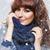 uśmiechnięty · młoda · kobieta · objętych · śniegu · kobieta · twarz - zdjęcia stock © svetography