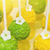 grünen · gelb · Makro · erschossen · süß · dekoriert - stock foto © svetography