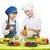 Kinder · Obst · Snacks · wenig · Junge - stock foto © svetography
