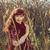 élvezet · portré · autentikus · arany · haj · nő - stock fotó © svetography