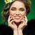 портрет · красивой · Lady · мех · глаза - Сток-фото © svetography