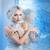 snow queen near frozen mirror stock photo © svetography