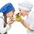 enfants · hérisson · forme · fruits · casse-croûte - photo stock © svetography