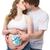 любящий · отец · целоваться · живота · беременна · жена - Сток-фото © svetography