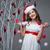 różowy · christmas · dekoracje · ozdoby · pasiasty - zdjęcia stock © svetography