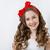 belleza · adolescente · maquillaje · peinado · pelo - foto stock © svetography