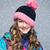caliente · gris · lana · de · punto · sombrero · hermosa - foto stock © svetography