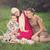 kinderen · picknick · gelukkig · eten · watermeloen · buitenshuis - stockfoto © svetography