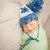 édes · kicsi · baba · fiú · kötött · pléd - stock fotó © svetography