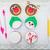 Рождества · конфеты · зеленый · счастливым · фон · зима - Сток-фото © svetography