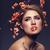 bella · ragazza · sakura · ramo · bella · trucco - foto d'archivio © svetography