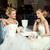 düğün · iki · güzel · zarif · tok · asılı - stok fotoğraf © svetography