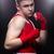 jeunes · boxeur · rouge · forme · adolescent - photo stock © svetography