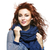 vrouw · gebreid · wol · sjaal · jonge · mooie · vrouw - stockfoto © svetography