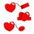 corazón · precio · etiquetas · vector · amor - foto stock © sweetcrisis