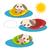 Cartoon · perro · piscina · ilustración · acción · emoción - foto stock © sweetcrisis