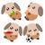 Cartoon · perro · ilustración · acción · emoción · jugando - foto stock © sweetcrisis
