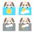 papel · tiempo · perro · icono · ilustración · sol - foto stock © sweetcrisis