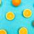 narancs · citrom · citrus · gyümölcs · minta · világoskék · fény - stock fotó © szabiphotography