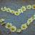 forme · de · coeur · Daisy · fleurs · vieux · texture · lumière - photo stock © szabiphotography