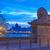 цепь · моста · Skyline · Будапешт · ночь - Сток-фото © szabiphotography