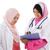 юго-восток · азиатских · мусульманских · медик · молодые · медицинской - Сток-фото © szefei