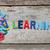 aprendizagem · colorido · palavras · cartas - foto stock © szefei