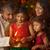 indian · meisje · handen · diwali · lichten - stockfoto © szefei